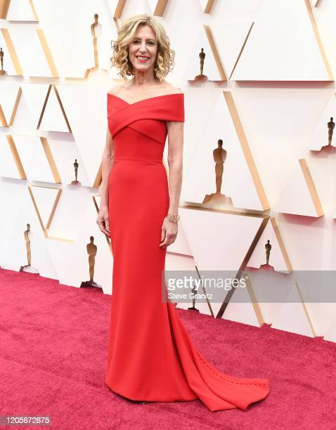 Christine Lahti arrives at the 92nd Annual Academy Awards at Hollywood and Highland on February 09, 2020 in Hollywood, California.