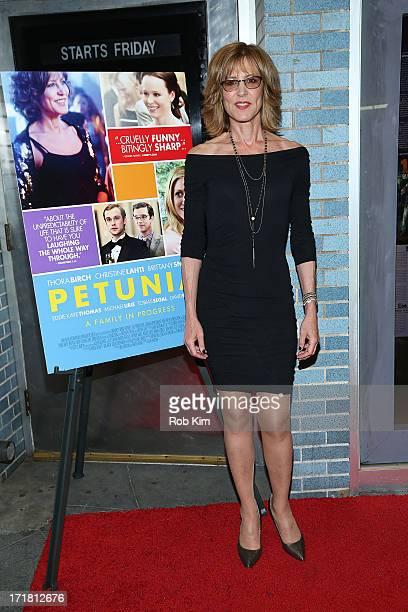 Christine Lahti attends Petunia New York Premiere at Cinema Village on June 28 2013 in New York City