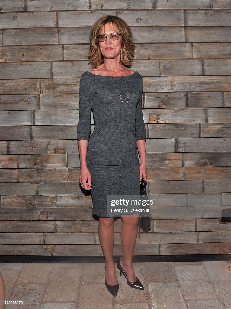 Christine Lahti attends The Cinema Society and MCM with Grey Goose screening of Radius TWC's 'Lovelace' after party at Refinery Rooftop on July 30, 2013 in New York City.