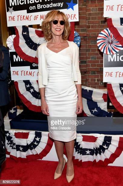 Christine Lahti attends The Terms Of My Surrender Broadway Opening Night at Belasco Theatre on August 10 2017 in New York City