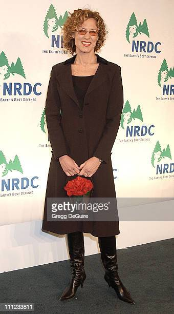 Christine Lahti during NRDC Presents The Rolling Stones in a Free Concert to Fight Global Warming Arrivals at Staples Center in Los Angeles...