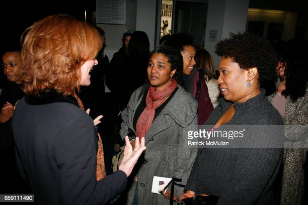 Christine Lahti Lynn Nottage and Saidah Arrika Ekulona attend Benefit Performance for EQUALITY NOW RUINED at NY City Center Stage 1 on April 7 2009...