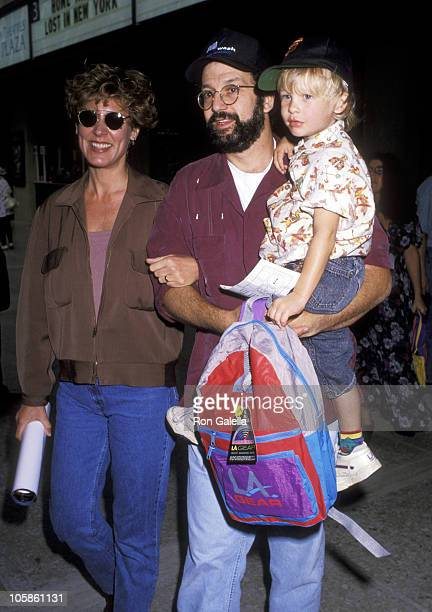 Christine Lahti Thomas Schlamme and son during 'Home Alone 2 Lost in New York' Premiere Hosted by United Artist Theatres at Century City in Century...