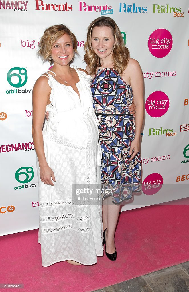 Christine Lakin And Beverley Mitchell Attend The Big City Moms Host U0027The Biggest  Baby Shower