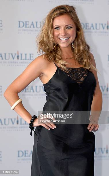 Christine Lakin during 31st American Film Festival of Deauville 'Reefer Madness' Photocall at CID in Deauville France