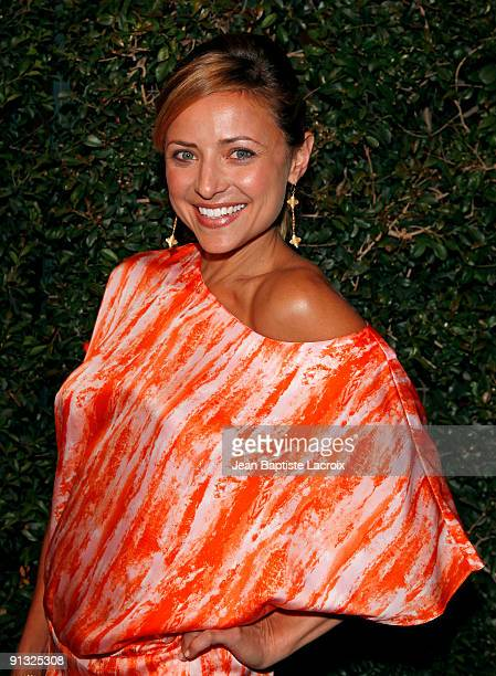 Christine Lakin sighting in West Hollywood on October 1 2009 in Los Angeles California