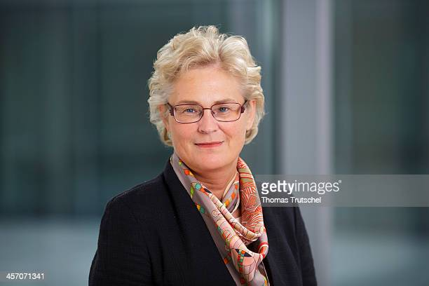 Christine Lambrecht SPD poses during a portrait session on December 16 2013 in Berlin Germany
