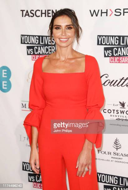 Christine Lampard attends A Very British Affair Auction during London Fashion Week September 2019 at Claridge's Hotel on September 13 2019 in London...