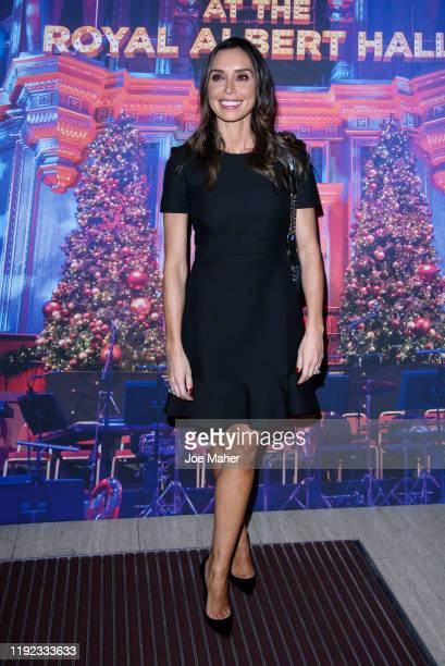 Christine Lampard attends Emma Bunton's Christmas Party at Hilton Park Lane on December 06 2019 in London England