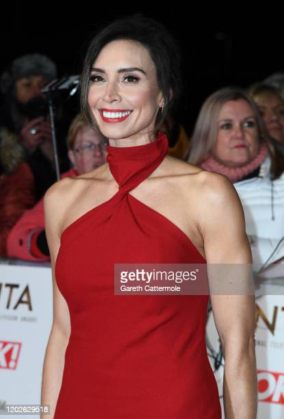 Christine Lampard attends the National Television Awards 2020 at The O2 Arena on January 28 2020 in London England
