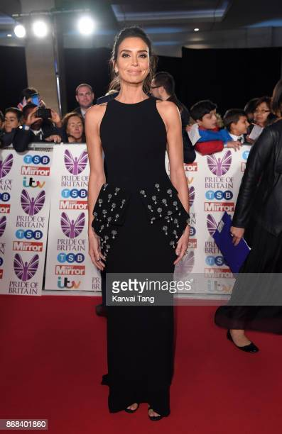 Christine Lampard attends the Pride Of Britain Awards at the Grosvenor House on October 30 2017 in London England