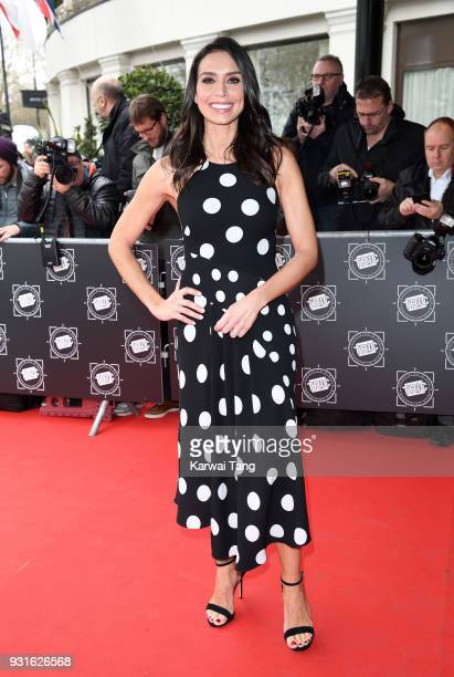 Christine Lampard attends the TRIC Awards 2018 held at the Grosvenor House Hotel on March 13 2018 in London England