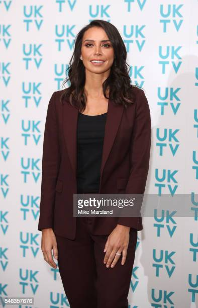 Christine Lampard attends the UKTV Live 2017 photocall at Claridges Hotel on September 13 2017 in London England Broadcaster announces it's programs...
