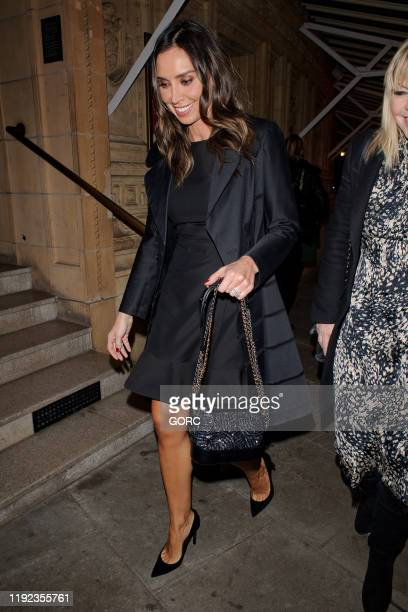 Christine Lampard seen attending Emma Bunton's Christmas Party at the Royal Albert Hall on December 06 2019 in London England