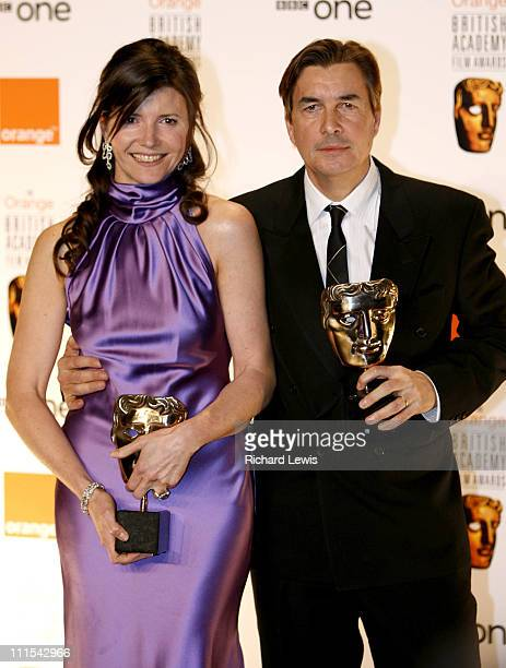 Christine Langan and Andy Harries winners of Best Film for 'The Queen'