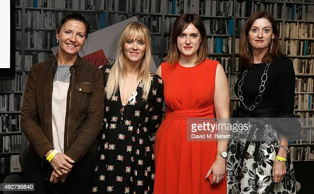 Christine Langan from BBC Films host Edith Bowman director Chanya Button and Amanda Barry from Bafta during day one of Stylist Magazine's first ever...