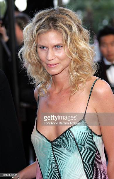 Christine Lelouch during 2005 Cannes Film Festival Joyeaux Noel Premiere at Palais de Festival in Cannes France