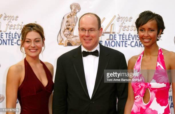Christine Lemler HSH Prince Albert of Monaco and Sonia Rolland