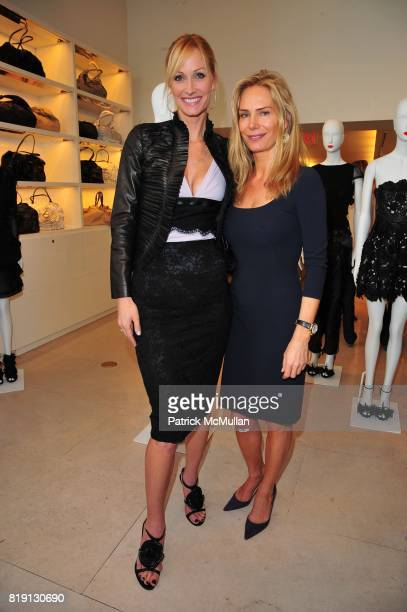 Christine Mack and Valesca GuerrandHermes attend VALENTINO Spring/ Summer 2010 Collection Private Luncheon and Presentation hosted by Samantha...