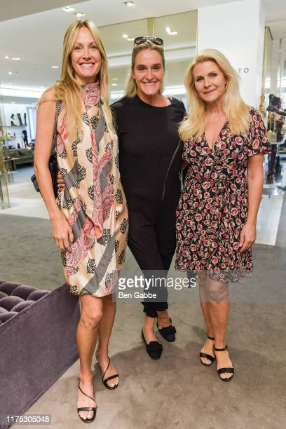 Christine Mack Angelina Jolin and Nina Junotattend a Brunch In Support Of The World Childhood Foundation USA hosted by Barneys New York on September...