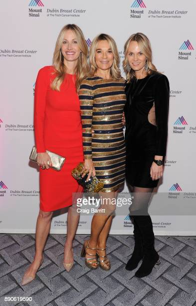 Christine Mack, Eva Andersson-Dubin, M.D. And guest attend 2017 Dubin Breast Center Annual Benefit at the Ziegfeld Ballroom on December 11, 2017 in...