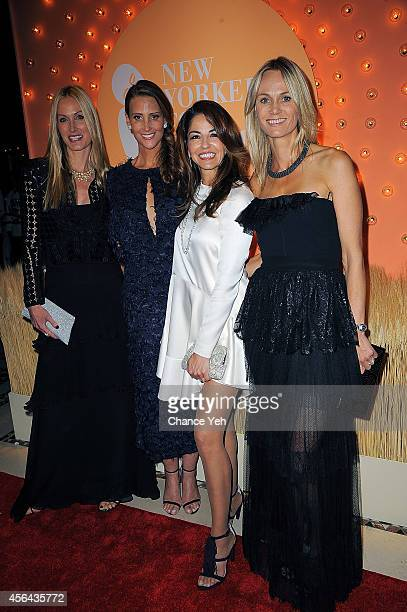 Christine Mack Stephanie Winston Wolkoff Dayssi Olarte de Kanavos and Lise Evans attend 15th Annual New Yorkers For Children Gala at Cipriani 42nd...