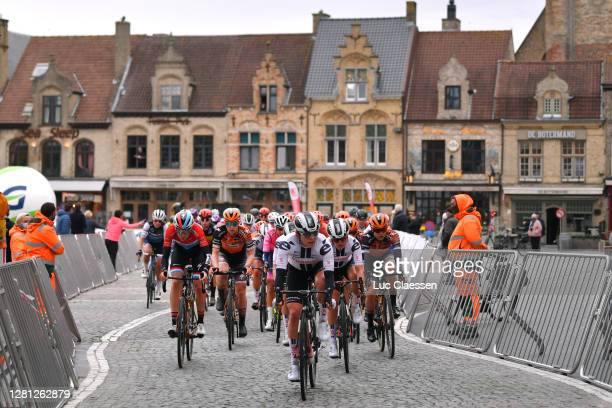 Christine Majerus of Luxembourg and Boels Dolmans Cycling Team / Jolien D'hoore of Belgium and Boels Dolmans Cycling Team / Julia Soek of The...