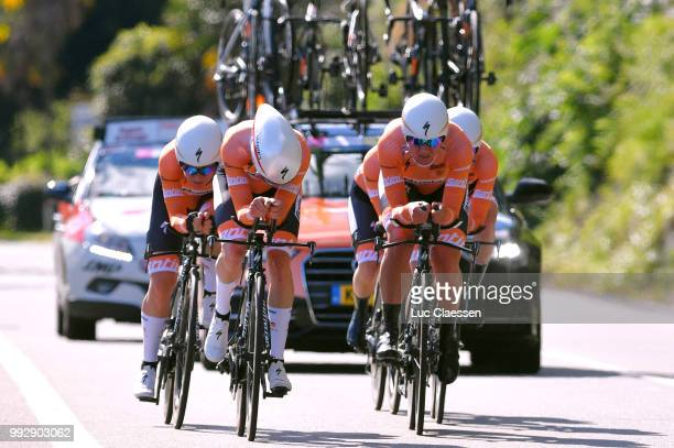 Christine Majerus of Luxembourg / Chantal Blaak of The Netherlands / KarolAnn Canuel of Canada / Megan Guarnier of The United States / Amy Pieters of...