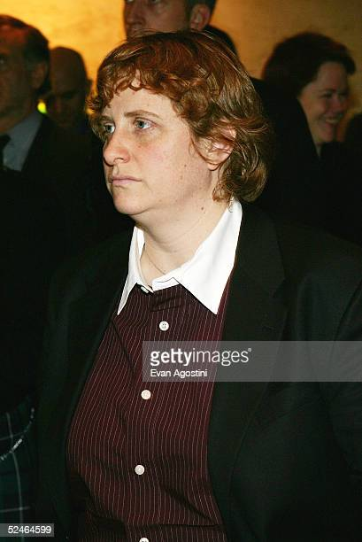 Christine Marinoni attends Children And Art Honoring Stephen Sondheim's 75th Birthday postshow dinner at The Four Seasons on March 21 2005 in New...