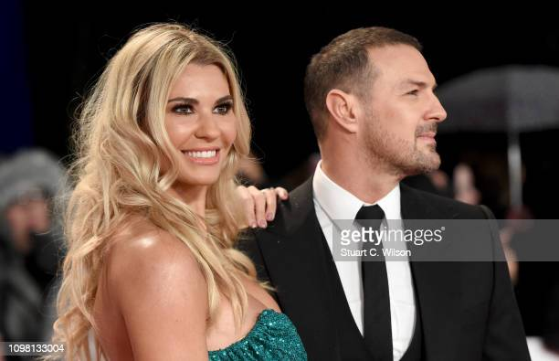 Christine Martin and Paddy McGuinness attend the National Television Awards held at the O2 Arena on January 22 2019 in London England