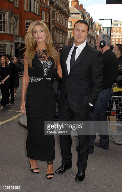 Christine Martin and Paddy McGuinness sighting at the Grosvenor House on May 22 2011 in London England