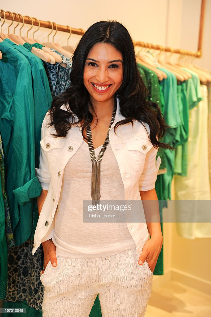 Christine Martinez attends 'A Balanced Life' discussion panel event at Calypso St. Barth at Stanford Shopping Center on April 18, 2013 in Palo Alto, California.