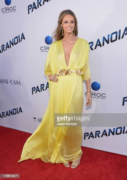 Christine Marzano attends the premiere of Relativity Media's Paranoia at DGA Theater on August 8 2013 in Los Angeles California