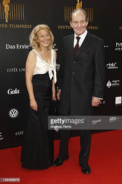 Christine Mayn and Michael Mendel attend the Lola - German Film Award 2012 at Friedrichstadt-Palast on April 27, 2012 in Berlin, Germany.