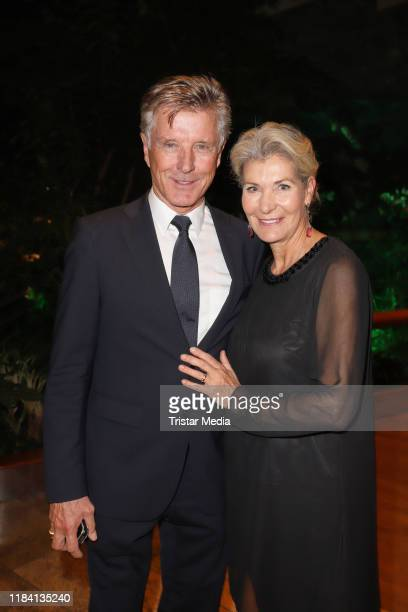 Christine Mayn and Nick Wilder during the Nacht der Schmetterlinge CharityGala zugunsten der Deutschen MuskelschwundHilfe e V on October 26 2019 in...