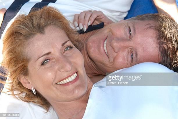 Christine Mayn und Ehemann Nick Wilder, Urlaub, Bozen, Südtirol, Italien, verliebt, Ehefrau, Frau, Mann, Promis, Prominenter, Prominente, ,