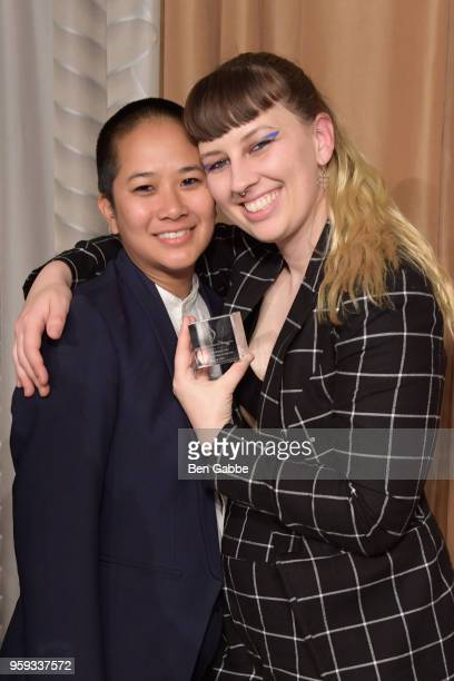 Christine McCharenTran and Becca McCharenTran attend the National Eating Disorders Association Annual Gala 2018 at The Pierre Hotel on May 16 2018 in...