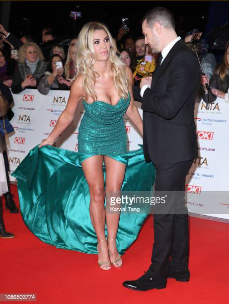 Christine McGuinness and Paddy McGuinness attend the National Television Awards held at The O2 Arena on January 22 2019 in London England