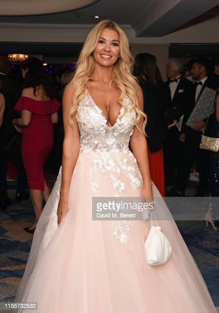 Christine McGuinness attends The Caudwell Children Butterfly Ball at The Grosvenor House Hotel on June 13, 2019 in London, England.