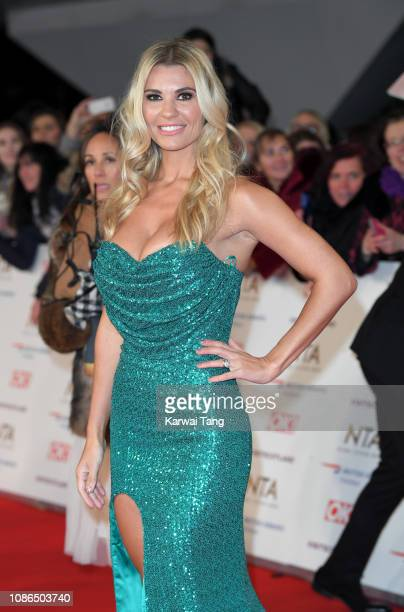 Christine McGuinness attends the National Television Awards held at The O2 Arena on January 22 2019 in London England