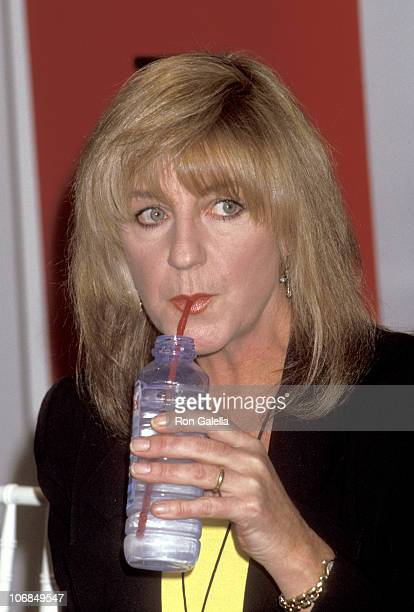 Christine McVie of Fleetwood Mac during Press Conference to Announce Fleetwood Mac's Performance for Bill Clinton's Inauguration Ceremony January 14...