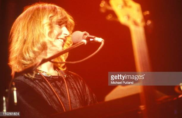 Christine McVie of Fleetwood Mac performs on stage New York 1979