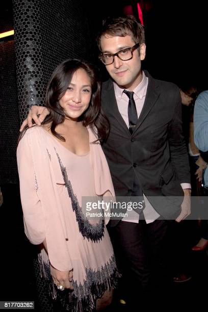 Christine Nebiar and Alex Suarez attend EMPOWERING WOMEN THROUGH MUSIC INITIATIVE by MUSIC UNITES at The Standard's Le Bain on October 4 2010 in New...