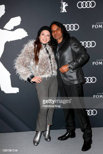 Christine Neubauer and Jose Campos at the Audi Berlinale Brunch during the 69th Berlinale International Film Festival at Berlinale Palace on February...