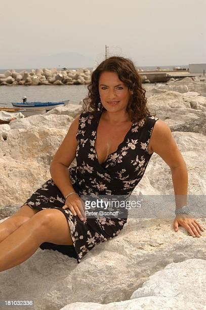 Unter weißen Segeln Leinen los 2 Folge Cecara/Italien Schauspielerin Mittelmeer Boot Meer Promis Prominente Prominenter