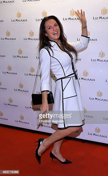 Christine Neubauer attends Liz Malraux Fashion Show at Hotel Atlantic on February 11 2015 in Hamburg Germany