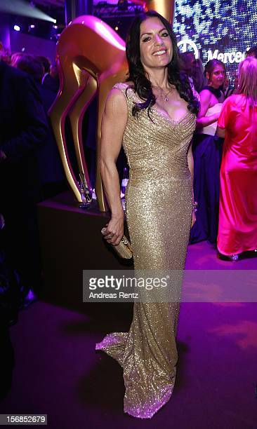 Christine Neubauer attends the after show party to the 'BAMBI Awards 2012' at the Stadthalle Duesseldorf on November 22 2012 in Duesseldorf Germany