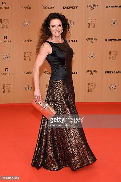 Christine Neubauer attends the Bambi Awards 2015 at Stage Theater on November 12 2015 in Berlin Germany