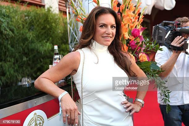 Christine Neubauer attends the Bavaria Film reception during the Munich Film Festival at Kuenstlerhaus am Lenbachplatz on June 30 2015 in Munich...