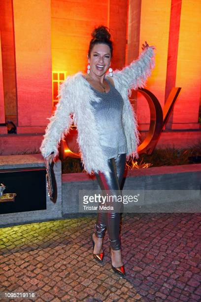 Christine Neubauer attends the Berlin Opening Night by GALA UFA Fiction during 69th Berlinale International Film Festival at Hotel Das Stue on...